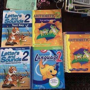 Other - A Beka 2nd Grade 2 Teacher Key Books Lot